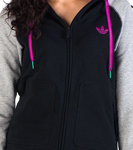 adidas - Sweatshirts - FRENCH TERRY ZIP HOODIE