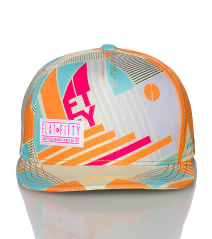 FLAT FITTY - Caps Snapback - 5 PANEL NEW SCHOOL SNAPBACK CAP