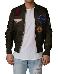 AMERICAN STITCH PATCHES BOBMBER JACKET
