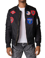 AMERICAN STITCH All Over Patch Jacket