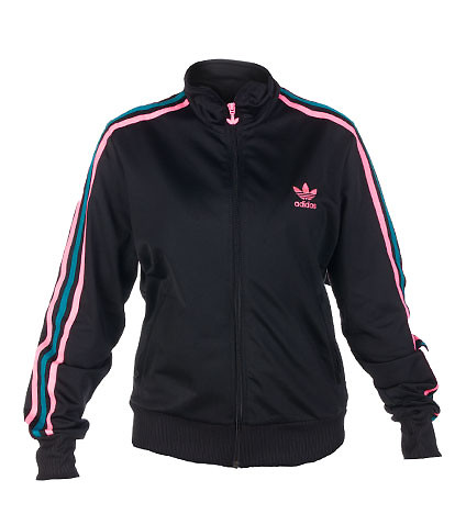 adidas WOMENS FIREBIRD TRACK TOP Black