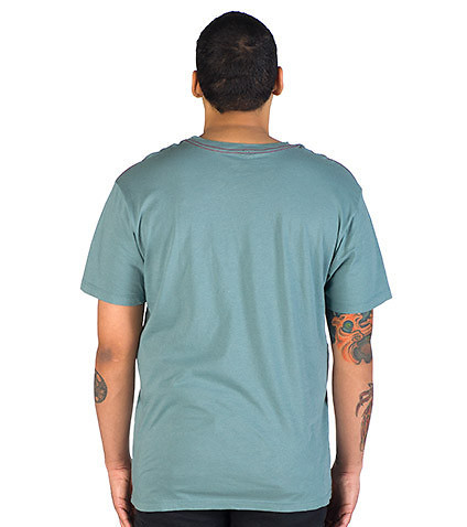 RVCA - Tees and Polos - STABILITY VINTAGE WASH SLIM FIT TEE