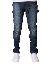 HERITAGE Side Zip Detail Jeans