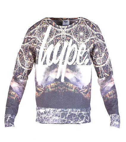 JUST HYPE - Sweatshirts - GOLD MOUNTAIN CREW