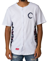 CROOKS AND CASTLES LOST TRIBE BASEBALL JERSEY