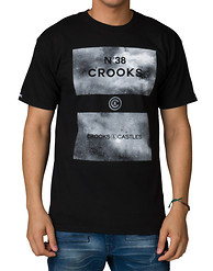 CROOKS AND CASTLES 38 GRIME SS TEE