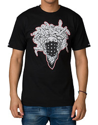 CROOKS AND CASTLES IRON BANDUSA SS TEE