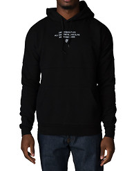 CROOKS AND CASTLES TAKEOVER KNIT HOODED DOLMAN PULLOVER