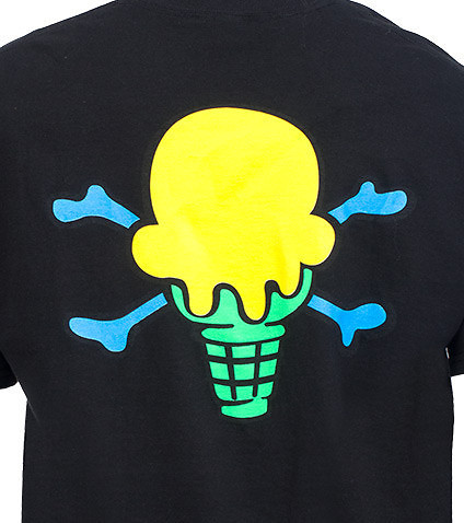 ICE CREAM - Tees and Polos - SS BACK BONE TEE SHIRT