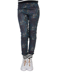 ESSENTIALS TRICOT PAINT SPATTER LEGGING
