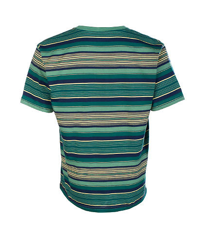 DECIBEL - Tees and Polos - STRIPED TEE
