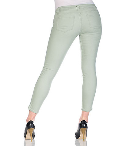 ESSENTIALS - Bottoms - 27' SKINNY ANKLE DENIM PANT