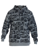 HUF EVIDENCE PULLOVER HOODIE