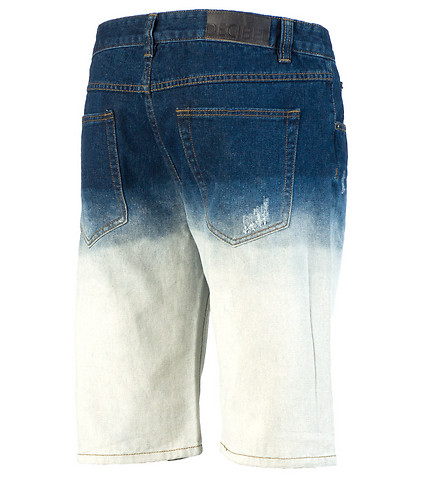 DECIBEL - Shorts - DIP DYE DENIM SHORT