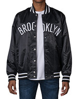 STARTER BROOKLYN NETS NBA SATIN JACKET