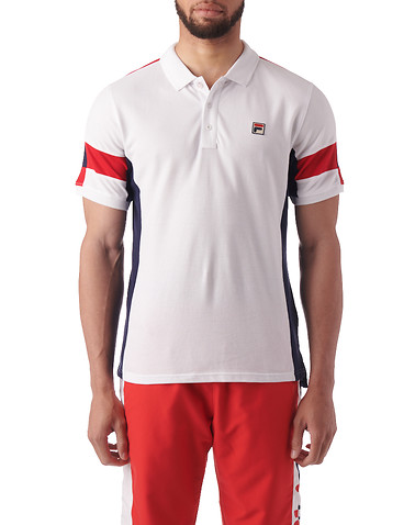 FILA Clothing Mens White Clothing / Tops S 11348492