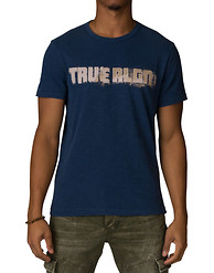 TRUE RELIGION FOOTBALL STITCH TEE