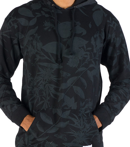 ESSENTIALS - Hoodies - MAGIC BLACK FLORAL PO HOODIE