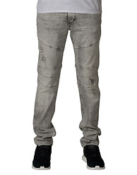 TRUE RELIGION ROCCO BIKER RELAXED SKINNY JEANS