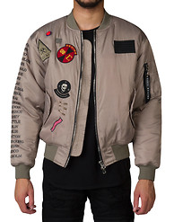CIVIL REBEL TOUR MA-1 BOMBER JACKET