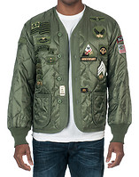 ALPHA 50TH ANNIVERSARY M65 LINER JACKET