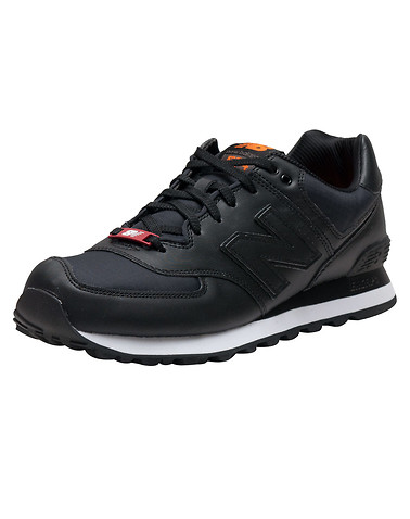 NEW BALANCE MENS Black Footwear / Sneakers 9 11257757