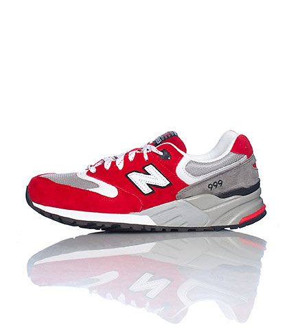 NEW BALANCE MENS 999 SNEAKER Red