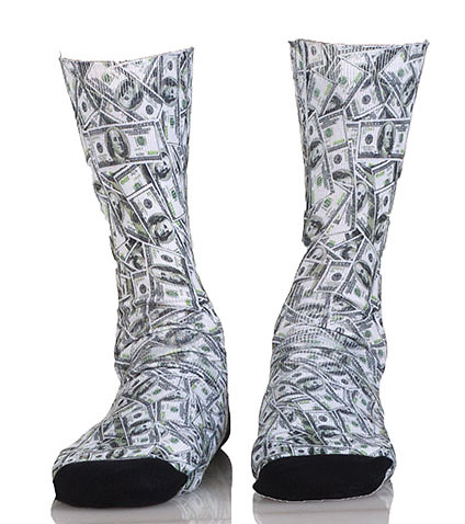 MAGNUM - Socks - MONEY SOCKS