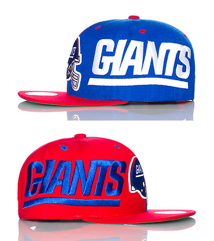 MITCHELL AND NESS - Caps Snapback - NEW YORK GIANTS 2012 NFL SNAPBACK CAP
