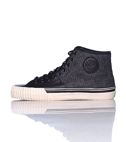 PF FLYERS MENS CENTER HI SNEAKER Grey
