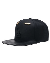 PRO STANDARD LA DODGERS LEATHER STRAPBACK HAT