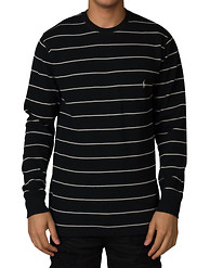 POLO LS CREW NECK STRIPE THERMAL