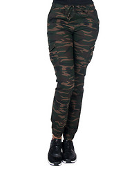 ESSENTIALS CAMO CARGO POCKET JOGGER