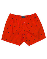 POLO PRINTED POLO PLAYER BOXER