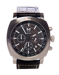 MEISTER RACER CROC LEATHER BAND WATCH