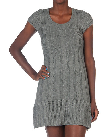 ESSENTIALS WOMENS Grey Clothing / Dresses XL 11206785