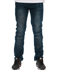 RESEARCH AND DEVELOPMENT LUCK WASH DENIM PANT