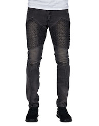 RESEARCH AND DEVELOPMENT BLACK BLASTED JEAN