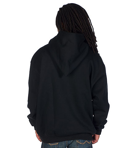 CHAMPION - Hoodies - SUPER PULLOVER HOODIE WITH RAISED LOGO