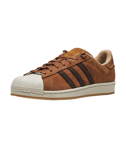 new product 9c011 fd8bd adidas superstar brown