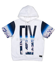 FLY SOCIETY CLOUD PRINTED PO FLC HOODIE