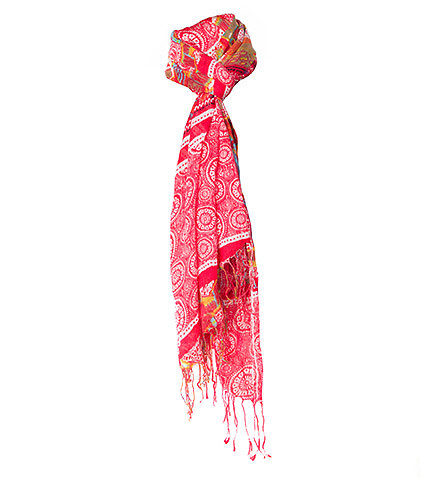 ESSENTIALS - Miscellaneous - TASSLED SCARF