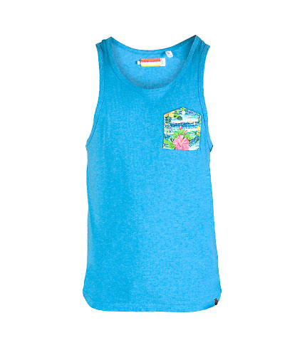 SLVDR MENS CYPRESS TANK TOP Blue