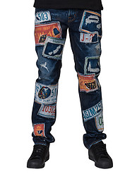 BUCKAROO PATCH AND NUMBERS JEAN