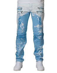 DECIBEL KNEE RIP OFF JEANS