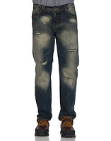 DECIBEL RUGGED THIGH BLAST DENIM JEAN