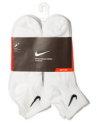 NIKE 6 PACK QUARTER SOCKS