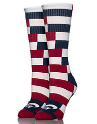 NIKE STRIPED DRIFIT SKATE CREW SOCKS