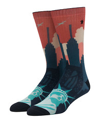 TRIPLE 5 SOUL NYC Landscape Socks