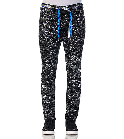 TRUKFIT - Jeans - ALLOVER SPECKLE PRINTED JEAN